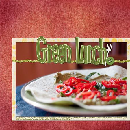 Week 07 Green Lunch