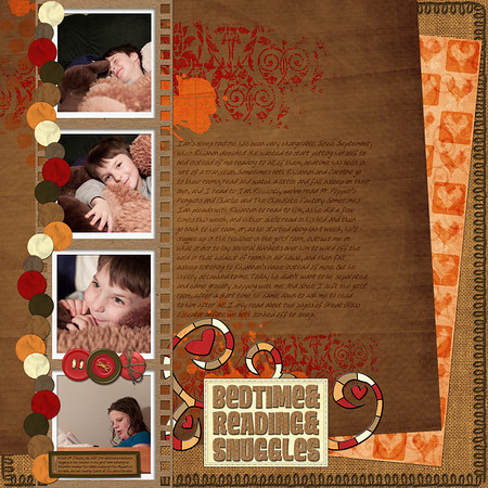Week 04 Bedtime & Reading & Snuggles elements from DigiShopTalk June 2011 blog train, Monkeying Around, from Mandy King, Color With Caren, Mye De Leon, MillyDee, Misty Cato, Digilicious, Scraps by Mara, Shel Belle Scraps, and Key of D
