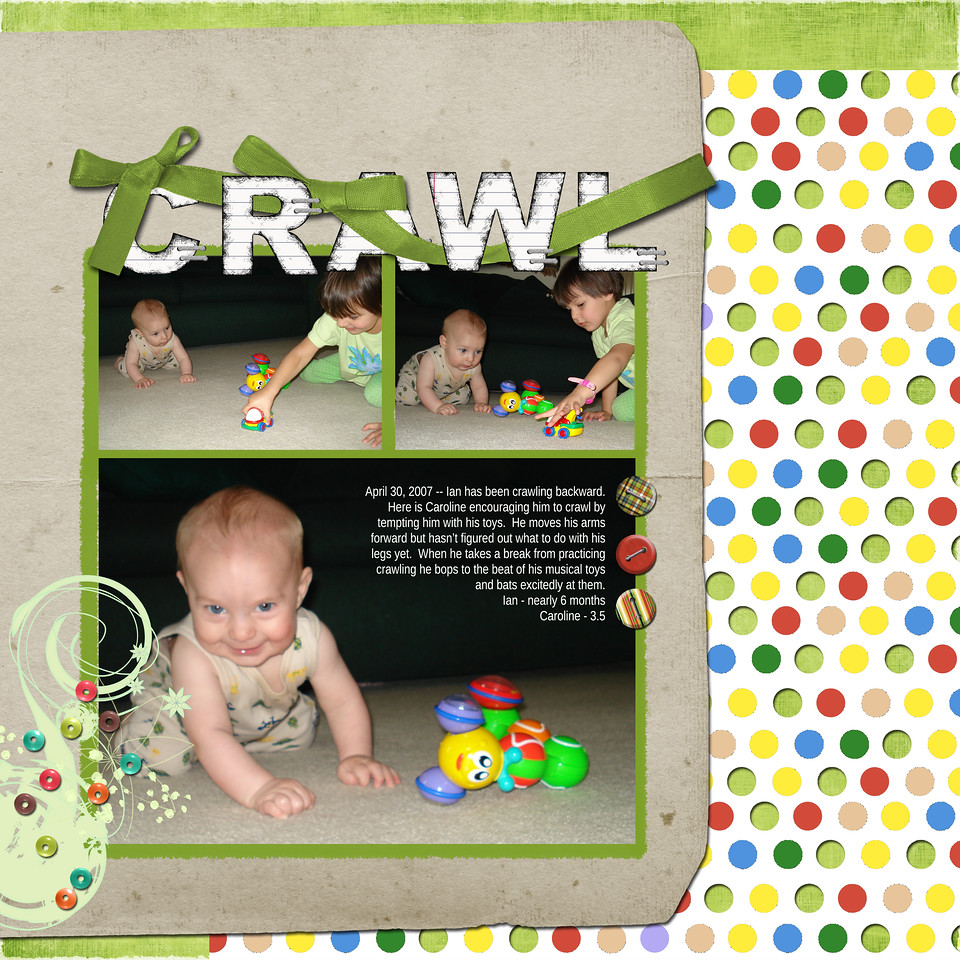 Selection Magic Class Week 1: Crawl