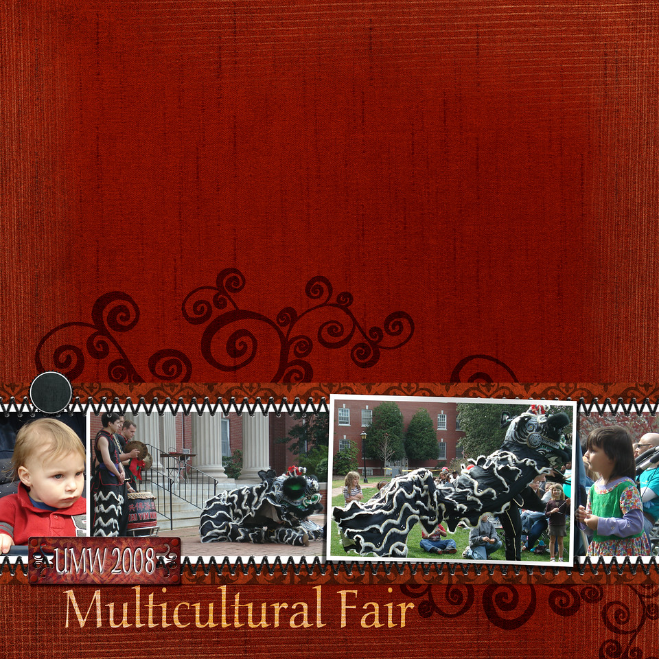 embellishment class lesson 2-1 - Multicultural Fair