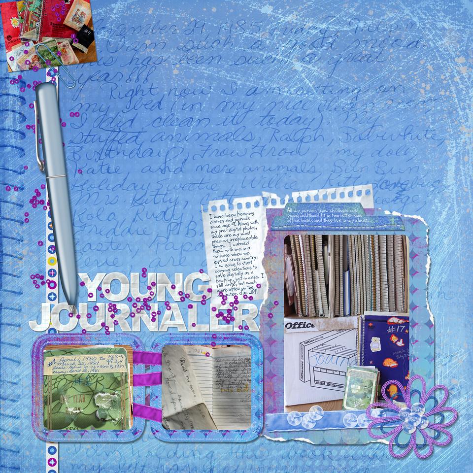 jj task 4 keepsake: young journaler