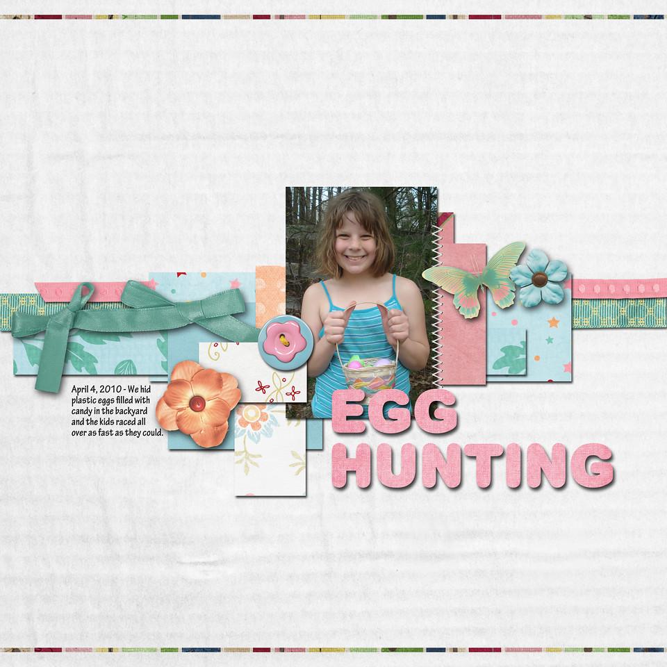 template challenge sm april Egg Hunting