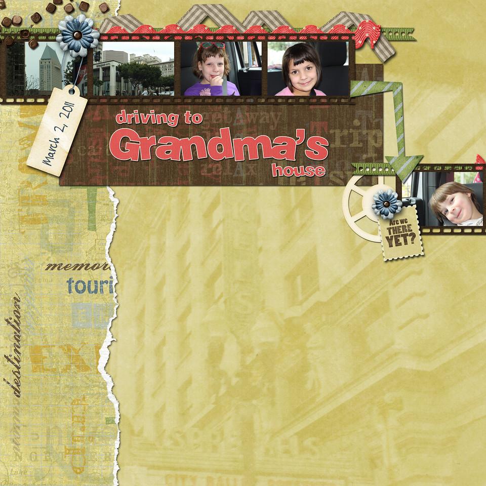 Driving to Grandmas house