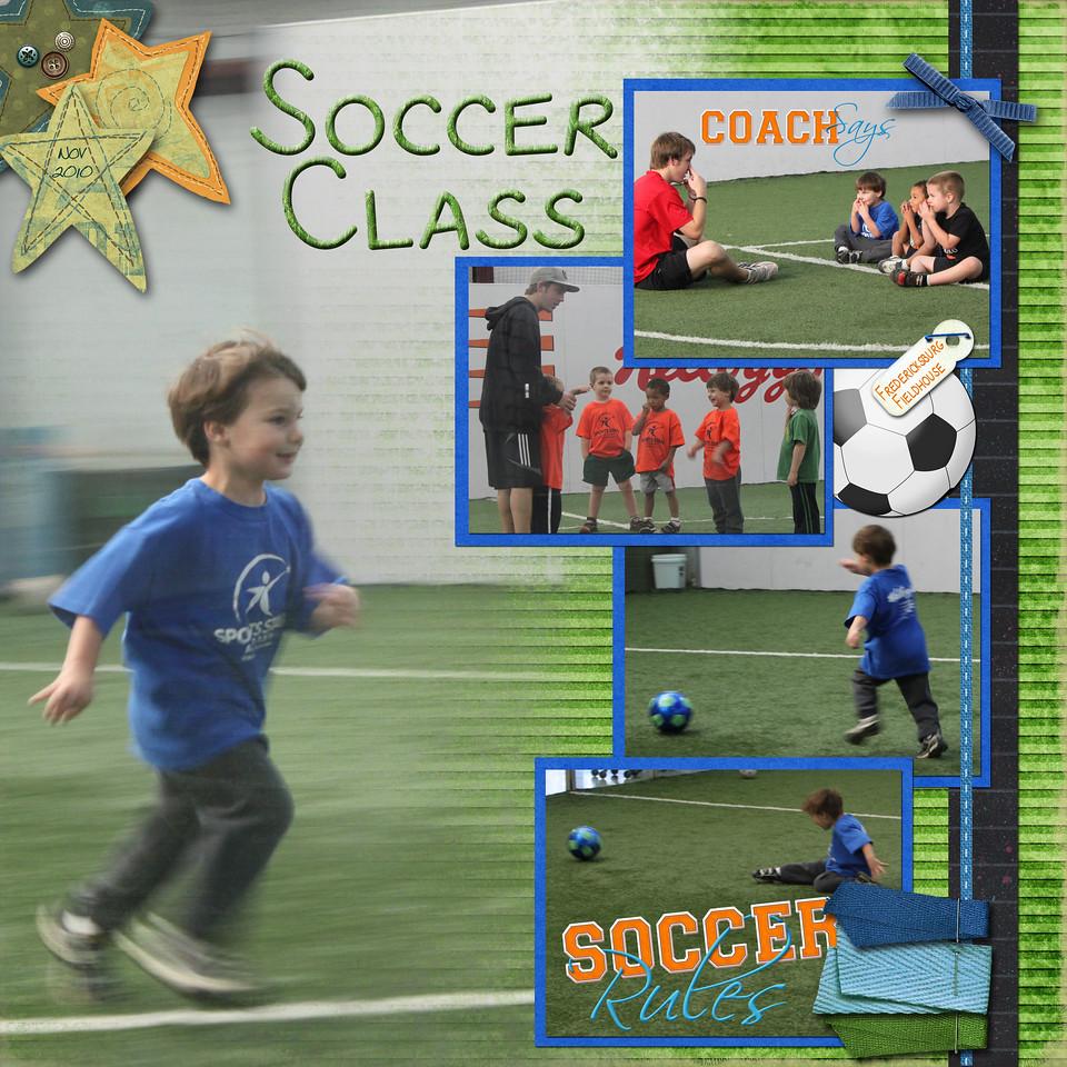 Soccer Class nov 2010