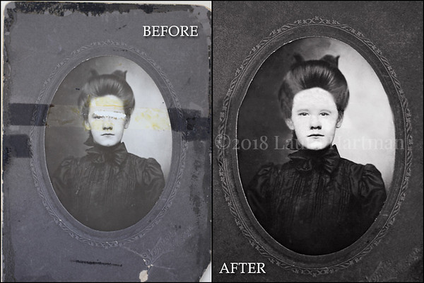Restoration done by Laura Hartman Photography - Columbus OHIO