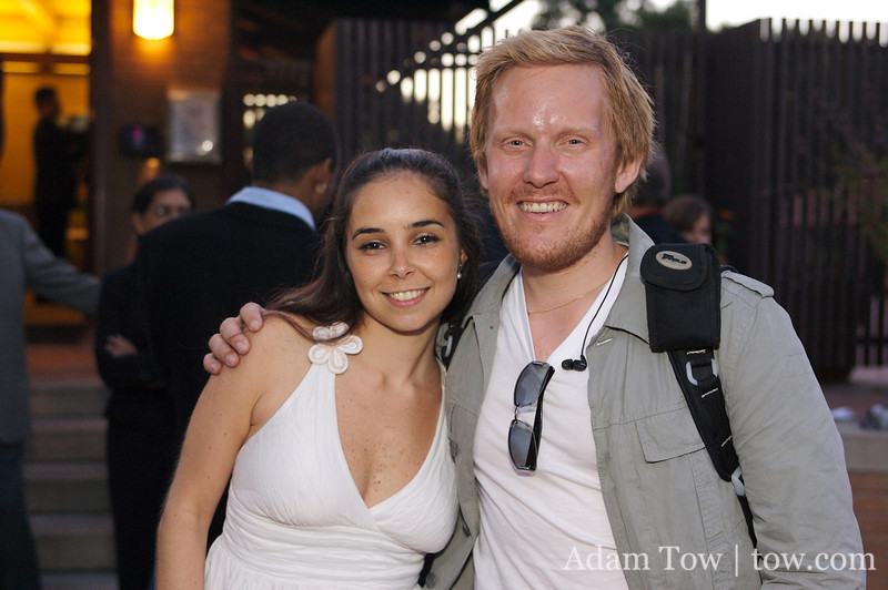 Erik and Fabiana