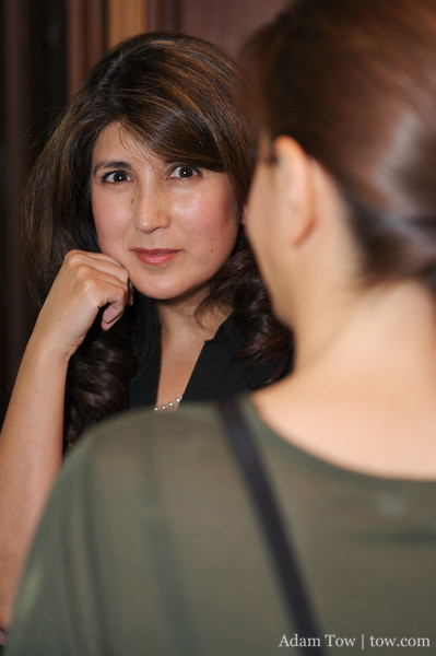 Margarita talks to Mitra