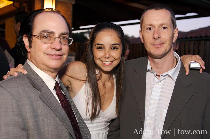 Neil, Fabiana, and Ken