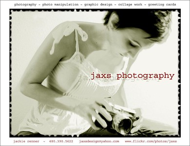 Jaxs Photography - print ad