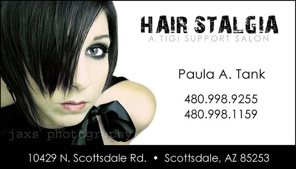 Hair Stalgia - design & photography