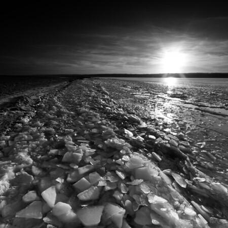 Saylorville Lake Winter