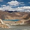 First Glimpse<br /> Pangong Tso<br /> Ladakh, India