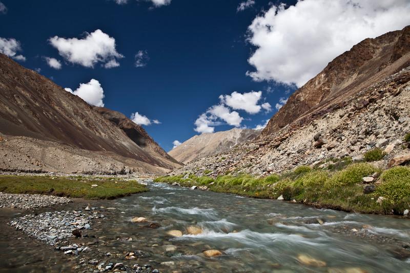 High Desert Water<br /> Changthang Valley<br /> Ladakh, India