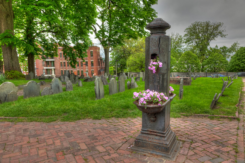 Copp's Hill Burying Ground, Boston