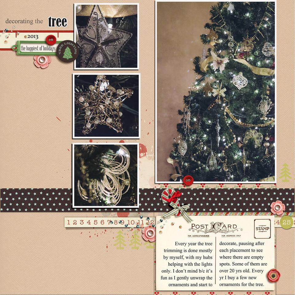 decoratingthetree