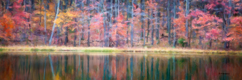 Fall Reflections<br /> Watercolor