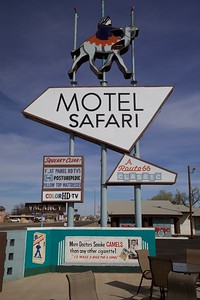 Motel Safari, Tucumcari, New Mexico