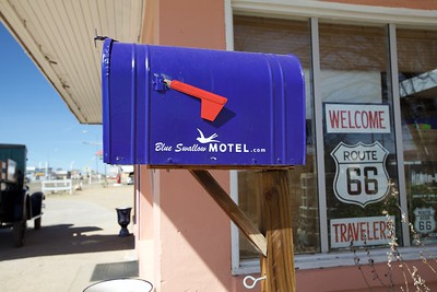 The Blue Swallow Hotel, New Mexico