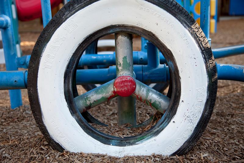 Preschool play yard, Saratoga, CA