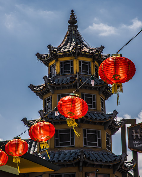 Chinatown, Los Angeles, California