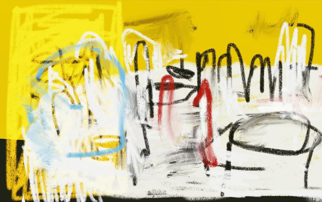 """Still life"" -  iPhone drawing app - 2015"