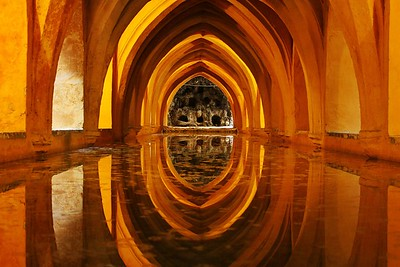 The Baths at Alcazaras, Seville, Spain
