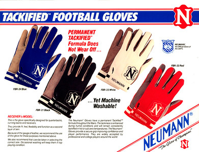 Art direction design and production: Neuman glove brochure