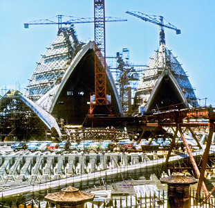 OH 118   Sydney Opera House under construction  1965.