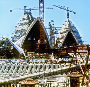 OH 118   Sydney Opera House under construction  1965.