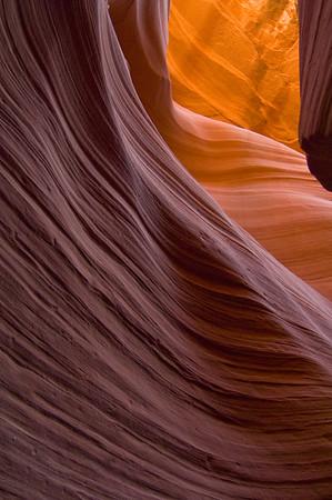 LAC 401   Lower Antelope Canyon - slot canyon,  Paige Arizona.