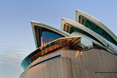 Sydney, Australia, Opera House, sunset