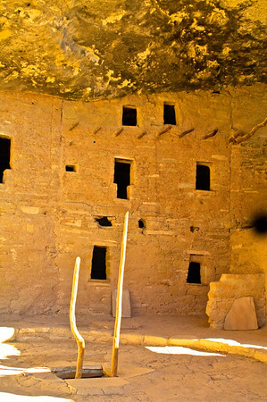 MV108   Mesa Verde National Park, Mesa Verde, Colorado,Mesa, Anasazi ,cliff dwellings, Cliff House,