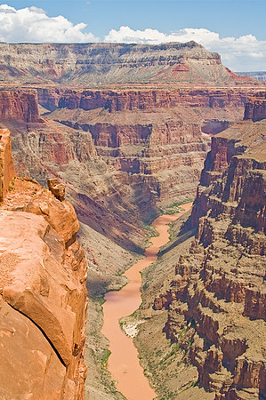 View from North Side of Grand Canyon. Toroweap overlook, Arizona.