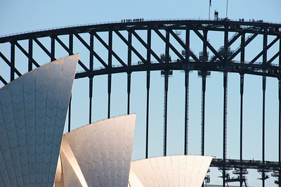 OH 116   Sydney, Australia, Opera House, Harbour Bridge