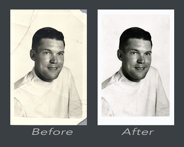 Orville I         Before and after