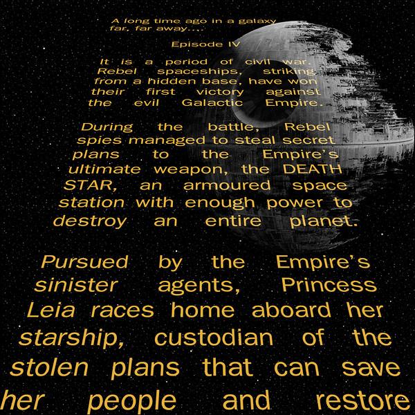 Star Wars Star Field Digital Paper