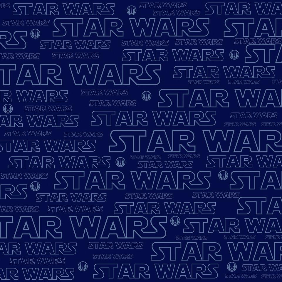Star Wars Logo Paper, 12x12, 300dpi