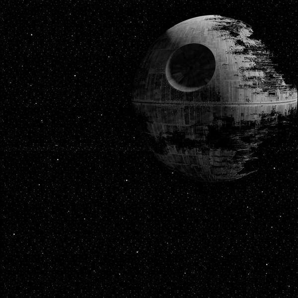 Star Wars Death Star Digital Paper