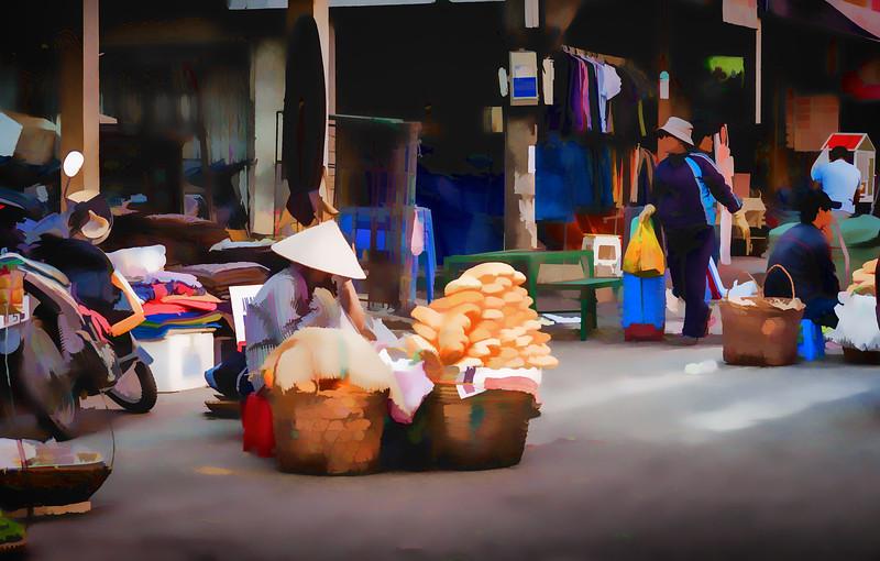 Street Vendor in Dalat