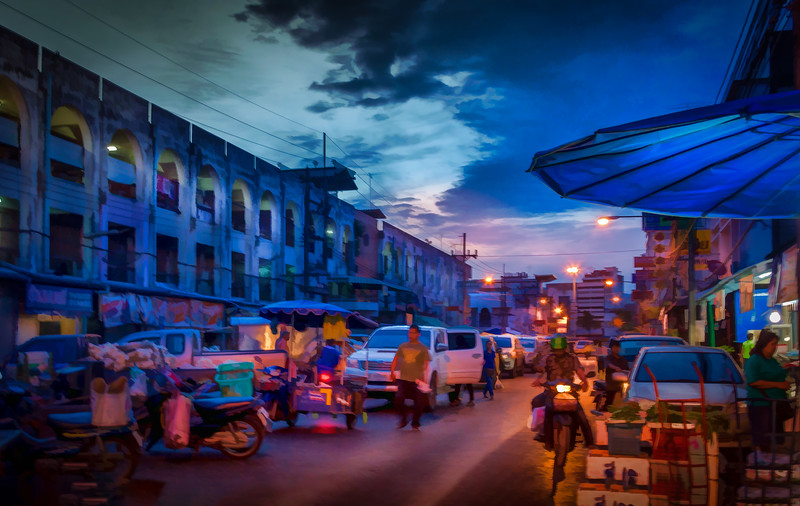 Dawn At The Market