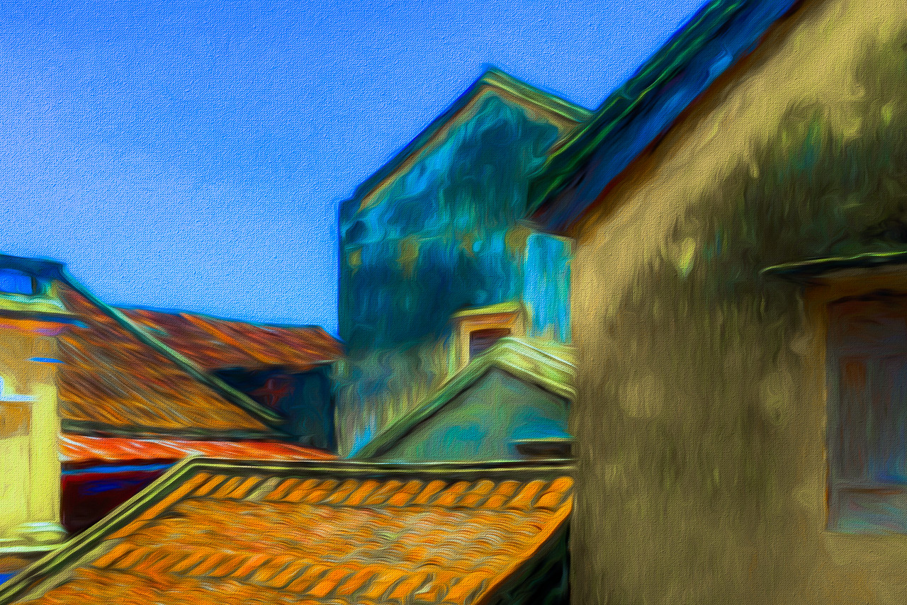 Rooftops of Hoi An