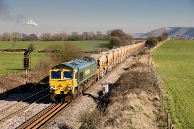 66616 6C73 1313 Westbury-Fairwater at Dilton Marsh