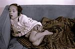 Ronnie Asleep on the Sofa