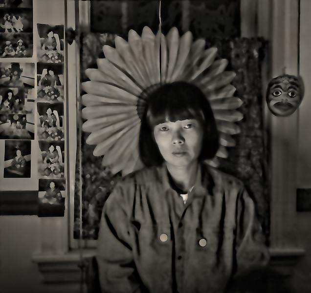 Sunjeon, Framed by Window