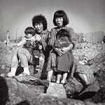 Injeon & Sunjeon holding Yoha & Ronnie