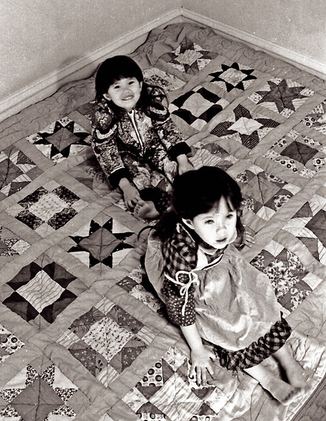 Ronnie and Yoha, Quilt Bedroom