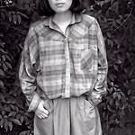 Sunjeon Standing, Seoul, Korea 1981