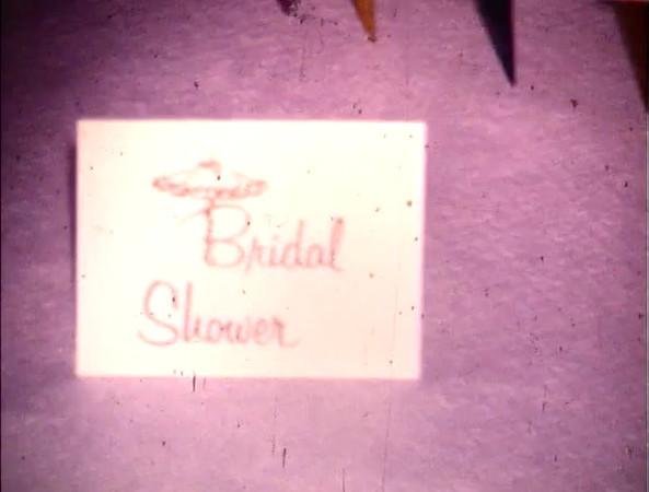 1970 Disc 3, Chapter 4<br /> 1970Marilyn's Bridal Shower50 ft.<br /> 6/13/70Wedding - Alan & Marilyn