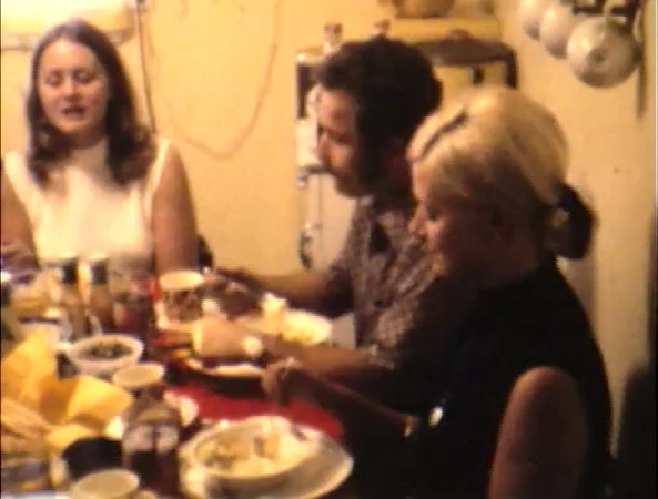 1973 September dinner, Wedding, Halloween, Hunting<br /> Christmas<br /> Scanning Reel #20 -> Disc 4, Chapter 5