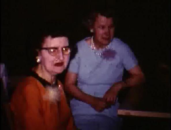 1967-04-30 Karen Joan's Shower - Cleveland Ballroom (100 ft)<br /> 1967-07-29 Dennis/Karen's wedding: Alan, Ken, George S., … (50 ft)<br /> Scanning Reel #13 -> Disc 3, Chapter 3